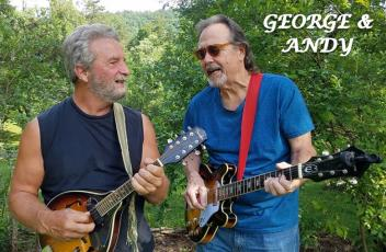 Hamilton will be followed by popular duo Andy Ward on mandolin and George Boothroyd on guitar. Their eclectic mix of classic hits, blues and more has been a featured favorite for easy listening in north Georgia and western North Carolina.
