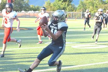 The JV Yellow Jacket football team returned to action Thursday, Sept. 19 as they hosted Andrews.
