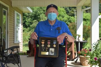 Becky Long • Clay County Progress: Decorated WWII veteran Kenneth Woodard has led a life of service.