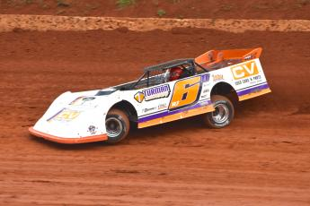"""The Chatanooga Flash"" turns laps at Tri County where he has raced since the '70s."