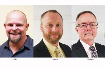 "James ""Jaybird"" Ellis, Jeff Tatham, and Arnold Mathews are running unopposed for the Cherokee County Board of Education.."