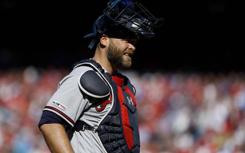Brian McCann announced his retirement from the Braves after a disappointing Game 5 loss Wednesday. Associated Press photo